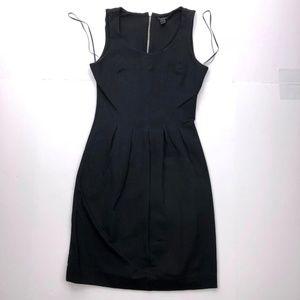 J. Crew Women's 0 Black Sleeveless Shift Dress